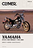 Clymer Yamaha XV535-1100 Virago 1981-2003: Service, Repair, Maintenance (Clymer Motorcycle Repair)