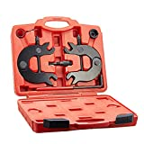 OrionMotorTech 6pc Camshaft Alignment Cam Shaft Timing Belt Tool Kit for 2000-2004 Audi A4 A6 with 3.0 V6 AVK Engines 00 01 02 03 04 - VW Polo Diesel - 1991-1994 Audi 100 C4