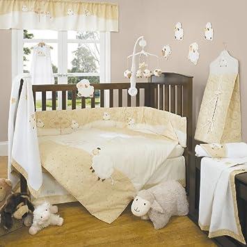 Amazon.com: Contar Ovejas 4 piezas juego de cama de bebé ...