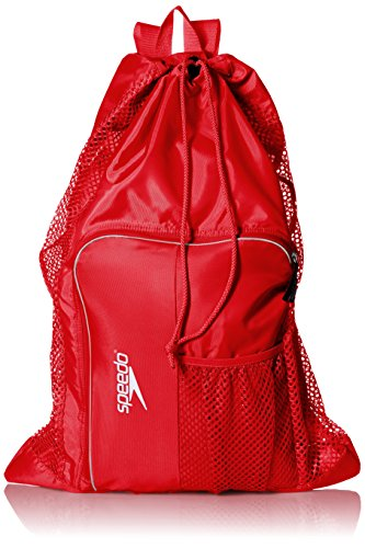 Speedo Deluxe Ventilator Mesh Equipment Bag, Formula One, 1SZ