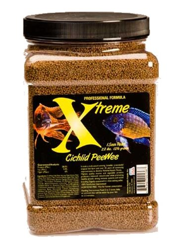 Xtreme Aquatic Foods 2136-F Cichlid Peewee Fish Food ()