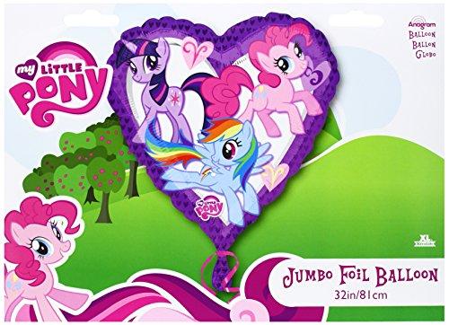 My Little Pony Jumbo Heart Mylar Balloon