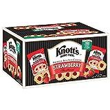 Knott's Berry Farm Strawberry Shortbread Premium Cookies (36 Pouches - 2oz Each) {Specialty Import}