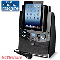 The Singing Machine ISM990 Karaoke System for iPad and...