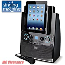 The Singing Machine ISM990 Karaoke System for iPad and iPhone (Certified Refurbished)