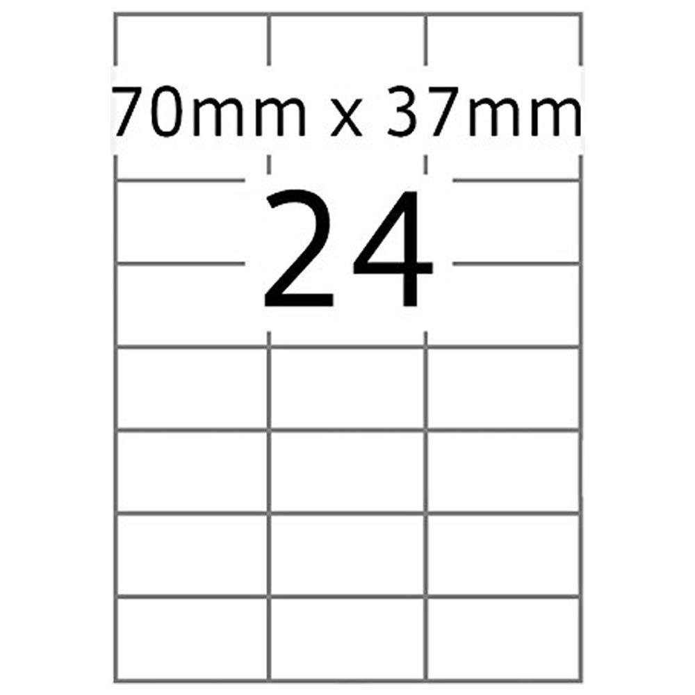 TOP STICK 8706 Universal-Etiketten, 70 x 37 mm, weiß, 100 Blatt weiß