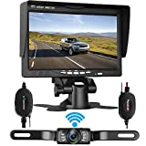 LeeKooLuu Wireless Backup Camera System for Car/SUV/Van with 7
