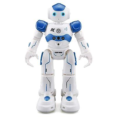 CQ Robot de Control Remoto Carga USB Canto Baile Control de Gestos Juguete Interactivo para Niños,Blue: Deportes y aire libre
