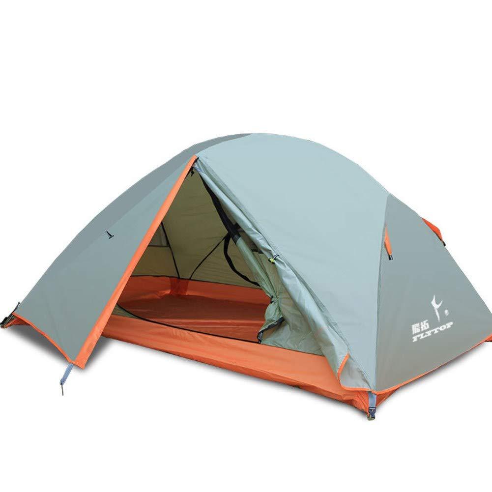 HUIYUE Outdoor Kuppelzelte,Campingzelt,Sonnenschutz-Zelt,Aluminiumstange Windproof Wasserdicht Portable Park Beach Hof Zelt