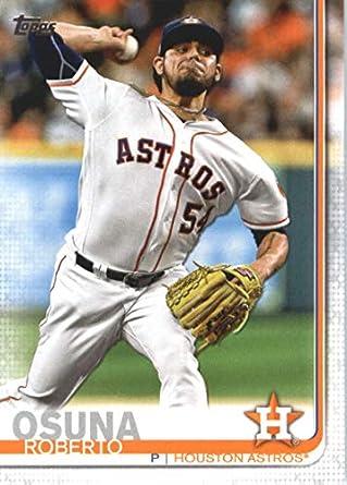 best website a28a0 3d906 Amazon.com: 2019 Topps #434 Roberto Osuna Houston Astros ...