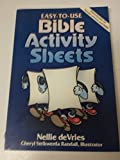 img - for Easy to Use Bible Activity Sheets by Nell Devries (1989-06-05) book / textbook / text book