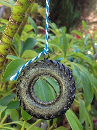 906 Miniature (Miniature Dollhouse Fairy Garden Accessories Resin Tire Swing)