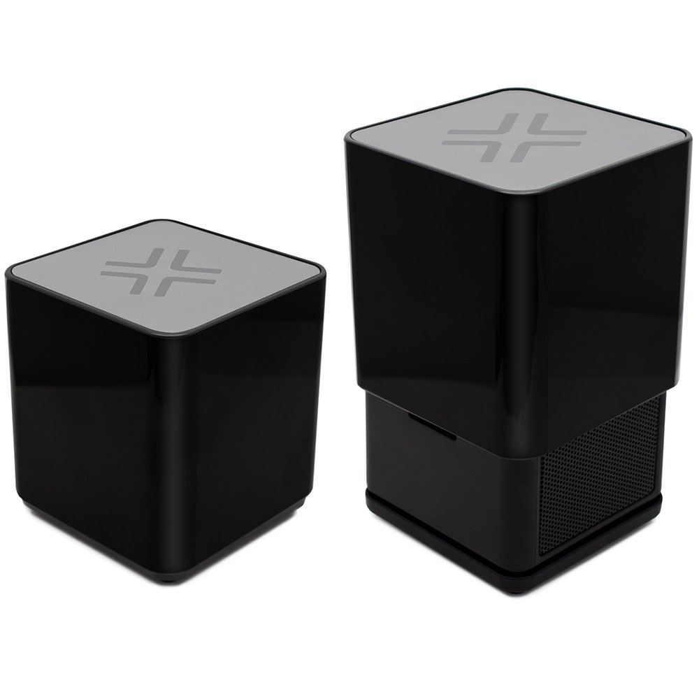 LENMAR Rise Bluetooth Rechargeable Mini Speaker, Big Sound, Small, Portable Size | Black by Lenmar