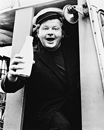 Risnay Benny Hill 16X20 Canvas Giclee As Ernie Fastest Milkman in The West! in Milk Cart (Benny Hill Fastest Milk Cart In The West)
