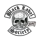 Black Label Society Back Patch 4 Piece Set