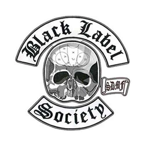 black-label-society-back-patch-4-piece-set