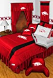 NCAA Arkansas Razorbacks - 5pc BED IN A BAG - Queen Bedding Set