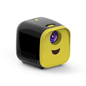 MENGZHEN Proyector portátil Mini proyector 1080p apoyado ...