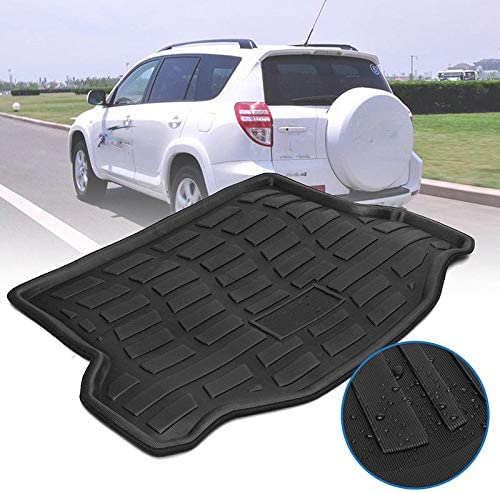 FidgetKute New Car Rear Trunk Boot Mat Cargo Liner Floor Tray for Toyota RAV4 2013-2017