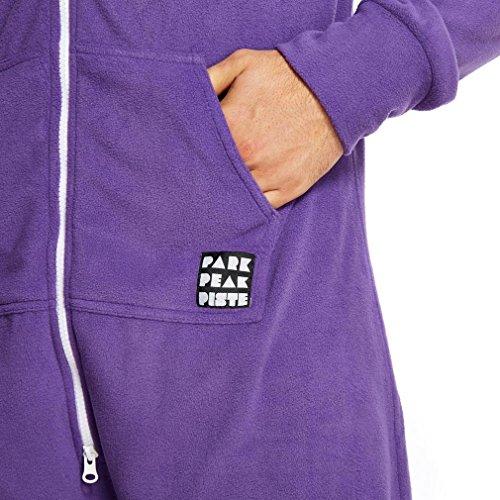 Para mayores de pijama Manbi/chalet para trajes morado