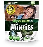 Cheap Vetiq Minties Dog Dental Bone Treats, Dental Treats For Dogs, Medium/Large, 16Oz