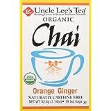 Uncle Lee's Tea Organic Orange Ginger Chai, 18 Count