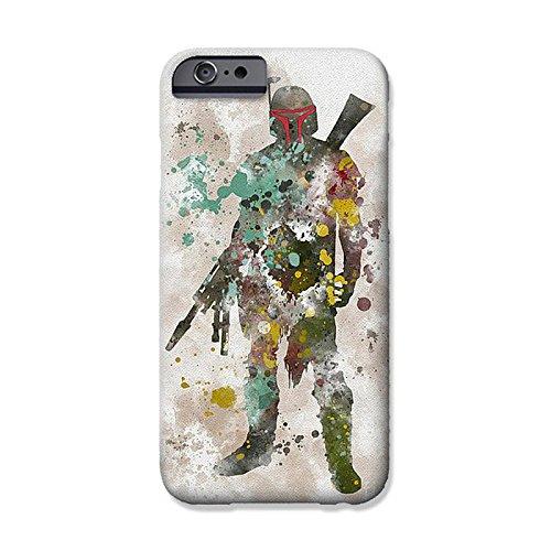 iPhone 6 Plus/6s Plus  Star Wars Fan Art Silicone Phone Case