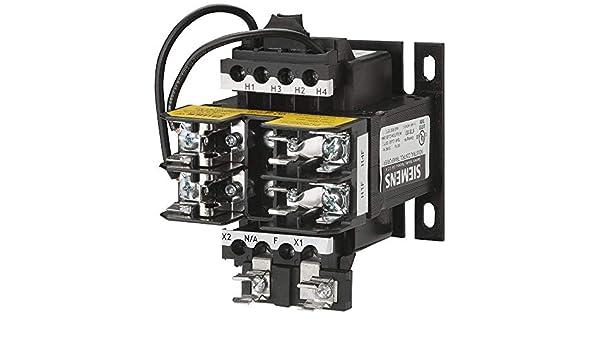 120 Secondary Volts Domestic 208//277 Primary Volts 50//60Hz Siemens MT0050F Industrial Power Transformer 50VA Rating