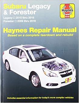subaru forester owners manual 2016