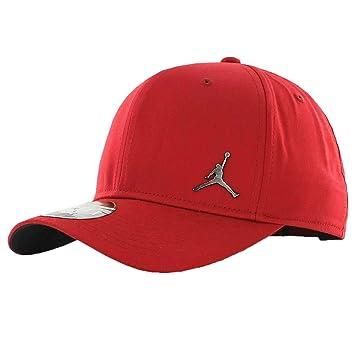 Nike Jordan Clc99 Metal Jumpman Gorra de Tenis, Unisex Adulto, Rojo (Gym Red), Talla Única