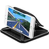 Facoon Cell Phone Holder Non-slip Pad Dashboard Cradle Dock Car Phone Mounts for iPhone 7 Plus 8 Plus X Samsung Galaxy Note 8 S8 Plus S7 and 3-7 inch Smartphone or GPS Devices