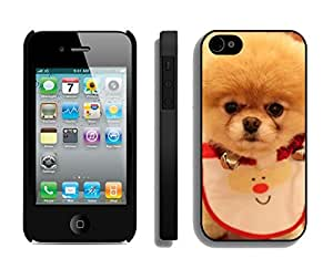 Personalize offerings Lovely Christmas Kitten Black TPU Case For Iphone 4s,Apple Iphone 4 Case