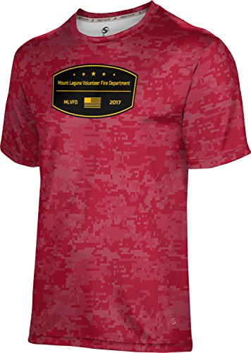 Price comparison product image ProSphere Boys' Mount Laguna Volunteer Fire Department Digital Tech Tee (Medium)