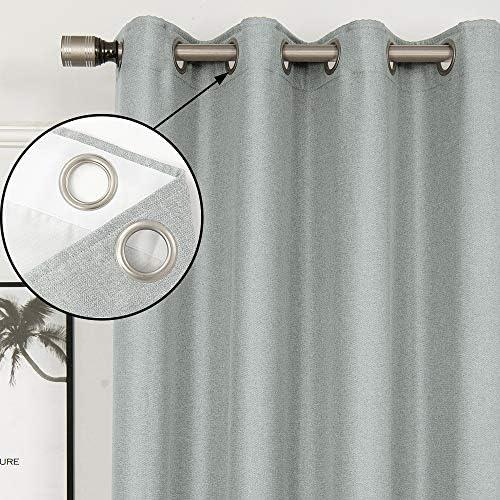 FULAN Herringbone Texture Curtainss