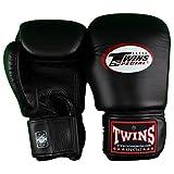 16 oz. Twins Sparring Gloves - Black