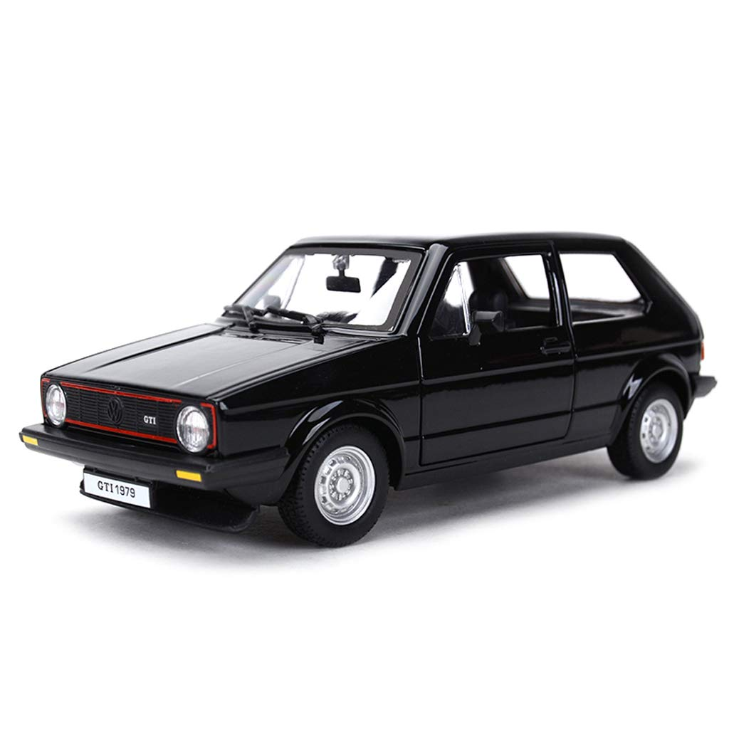 ZEQUAN Cars DieCast Model, Car Model Car 1 24 Alloy Diecasting Toy Car Collection Office Decoration ( color   Black )