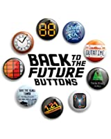 """Back to the Future Inspired 1"""" Buttons"""