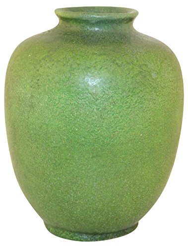 Grueby Pottery Matte Green Vase