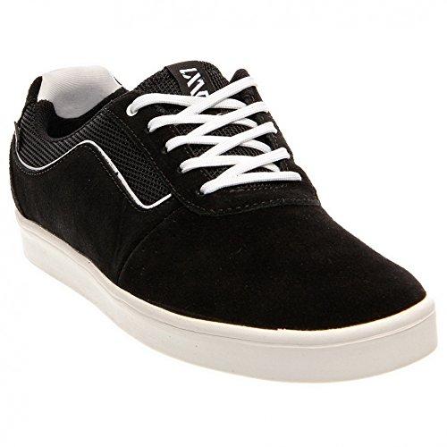 Vans Homme Lxvi Numéral Lo Top Skate Sneakers Noirblanche