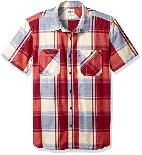 白菜!Levi's李维斯Gade男士短袖衬衫