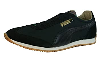 Puma SF77 LUXE CAMO Black Men Shoes Sneaker
