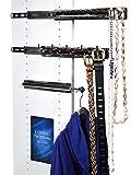 Rev-A-Shelf Closet Accessories; Chrome & Telescoping; Set of Three (3) – Bundle - 4 Items