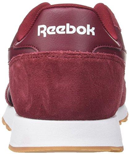 Homme Rouge collegiate white gum Ultra Reebok Royal Burgundy Baskets Basses FxnInO6Z