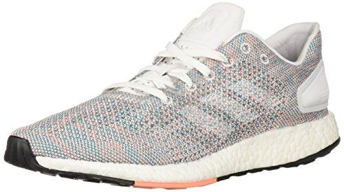 adidas Women's Pureboost DPR White/White/Chalk Coral