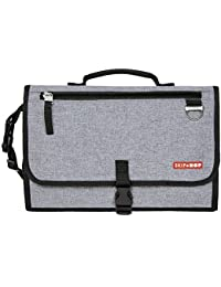 Baby Pronto Signature Portable Changing Mat Station, Heather Grey