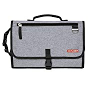 Skip Hop Baby Pronto Signature Portable Changing Mat Station, Heather Grey