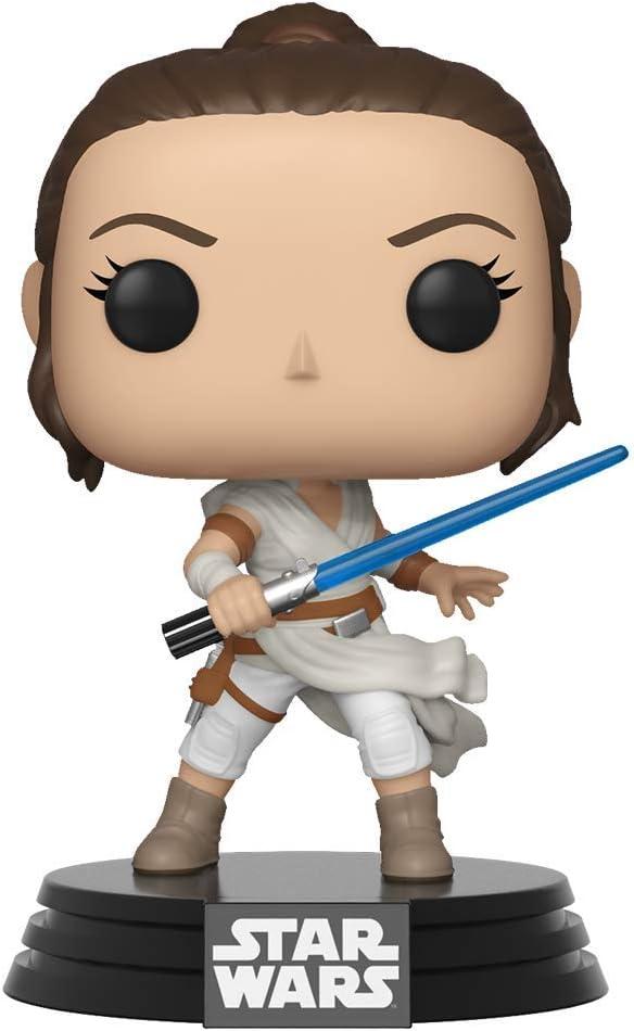 Funko- Pop Star Wars The Rise of Skywalker-Rey Disney Figura Coccionab, Multicolor, Talla Única (39882)