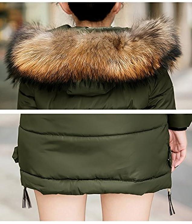Giacca Con Cerniera Pelliccia Imbottita Cappuccio Winter E Lunga Coat Women's Acelyn 7qpw7