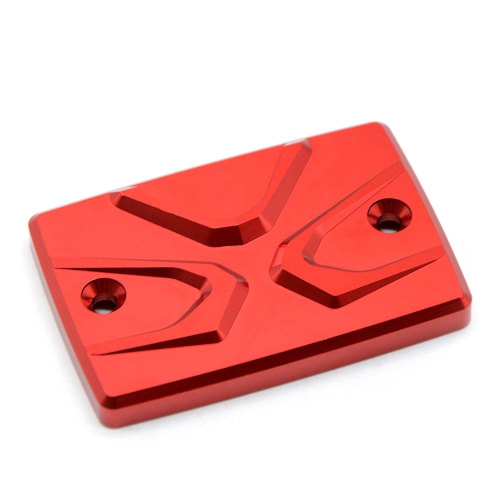 Rojo Tapa del Dep/ósitos de fluidos de freno Rear Brake Fluid Reservoir Cap Cover para Yamaha MT07 2013 2014 2015 2016 2017 Motorcycle Tapa del Dep/ósito de L/íquido Trasero