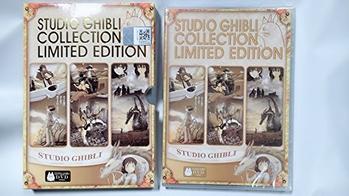 Hayao Miyazaki & Studio Ghibli Deluxe 17+1(18) Movie Collection (6Disc)All With English Language Tracks by japan